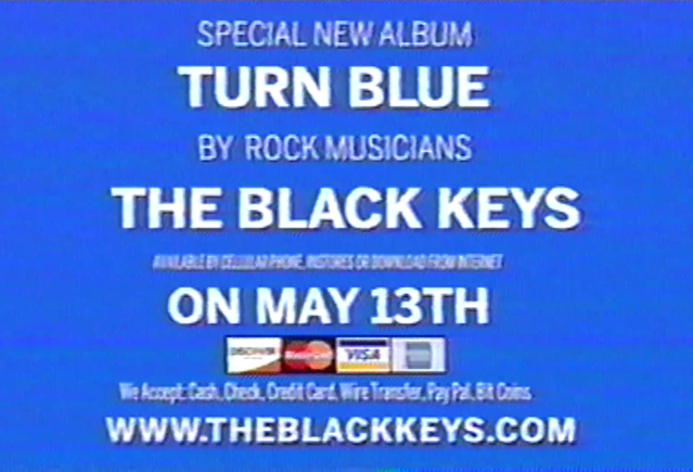 The Black Keys - Turn Blue announcement