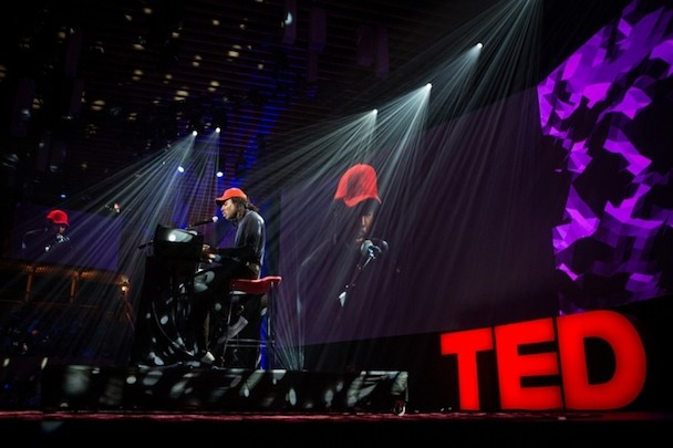 Blood Orange Gave A TED Talk About His Synesthesia