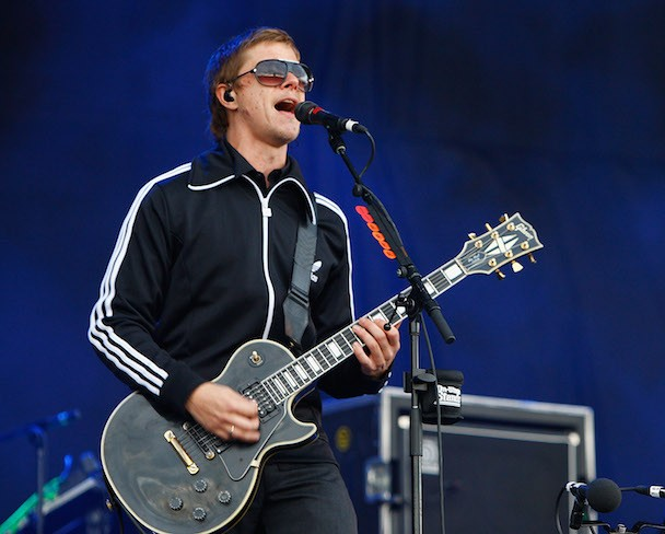 "Watch Interpol Debut ""My Desire"" And ""Anywhere"" In Newcastle"