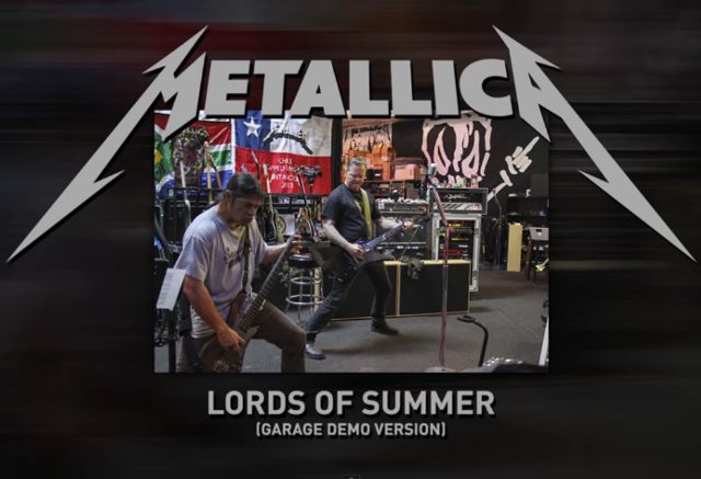 "Metallica - ""Lords Of Summer"" (Garage Demo Version)"