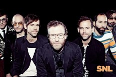 The National perform on SNL