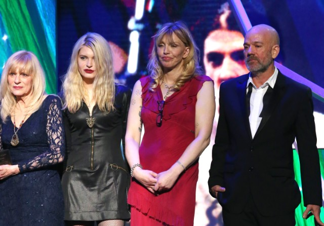 Courtney Love @ 29th Annual Rock And Roll Hall Of Fame Induction Ceremony