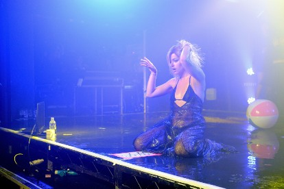Lily Allen Performs At G-A-Y