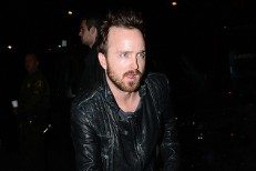 Aaron Paul Traded Pizza For Tickets To Arcade Fire's Roxy Show Last Night