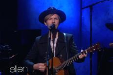 Watch Beck Play <em>Ellen</em>