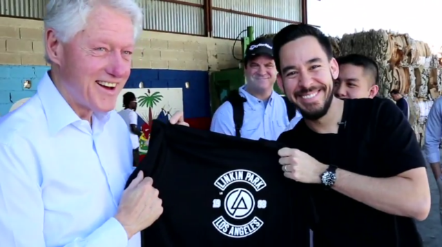 Bill Clinton Linkin Park