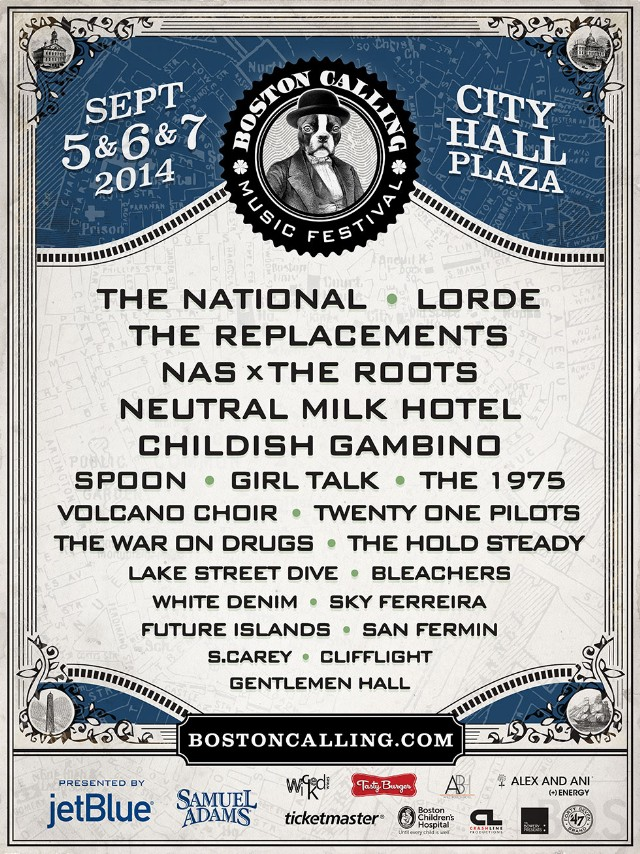 Boston Calling September poster