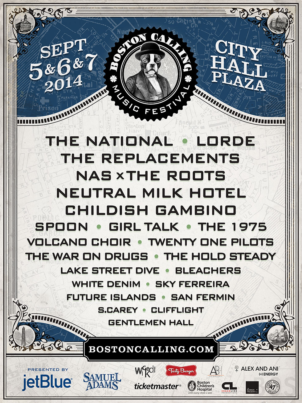 Boston Calling September 2014 Lineup