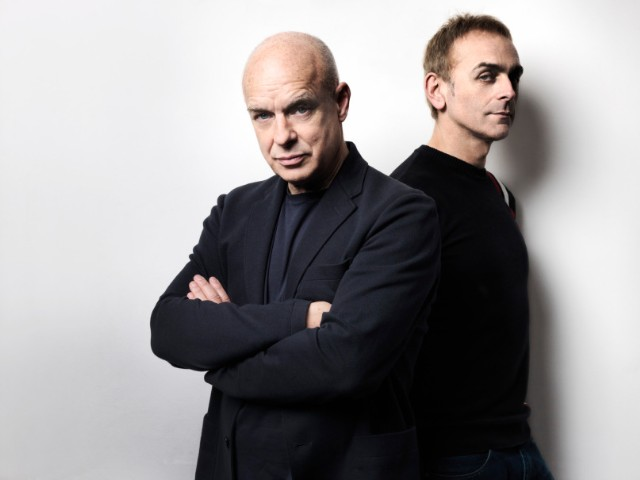 Brian Eno and Karl Hyde