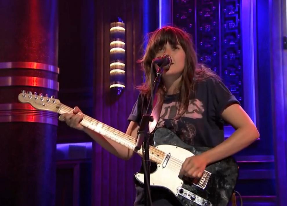 Watch Courtney Barnett&#8217;s American TV Debut On <em>The Tonight Show</em>