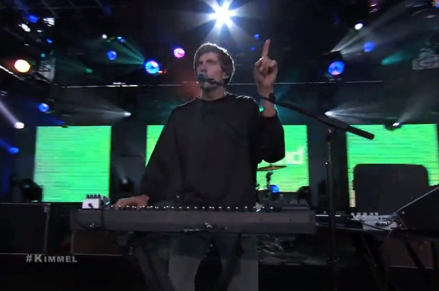 Cut Copy on Kimmel
