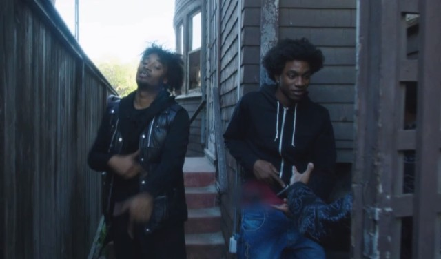 "Danny Brown - ""25 Bucks"" video"