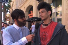 Watch Drake In Disguise Interview Pedestrians About Drake On <em>Jimmy Kimmel Live</em>
