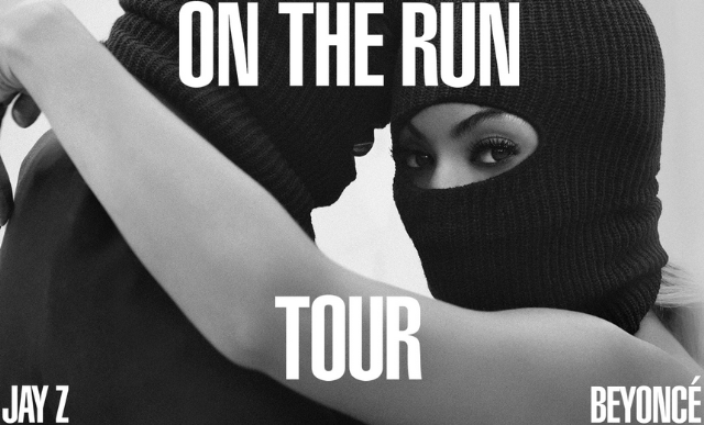 Jay-Z and Beyonce On The Run tour