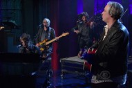 Watch Joseph Arthur, Peter Buck, And Mike Mills Cover Lou Reed On <em>Letterman</em>