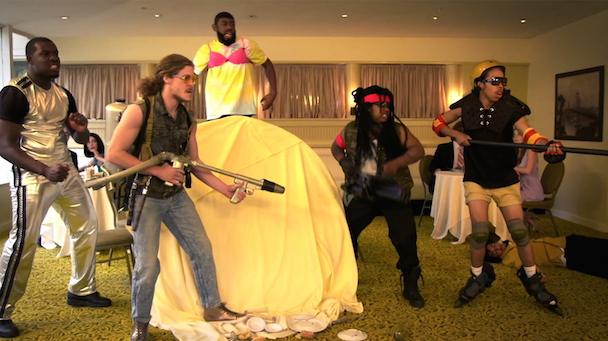 Watch An Action-Packed Clip From <em>Loiter Squad</em> Season 3