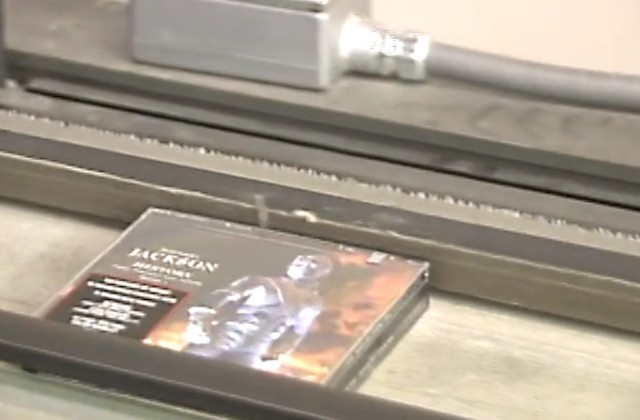 Michael Jackson HIStory CD manufacture
