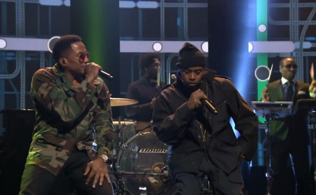 Nas on The Tonight Show