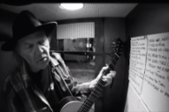 "Watch Neil Young Cover Bert Jansch's ""Needle Of Death"" In Jack White's Voice-O-Graph Booth"
