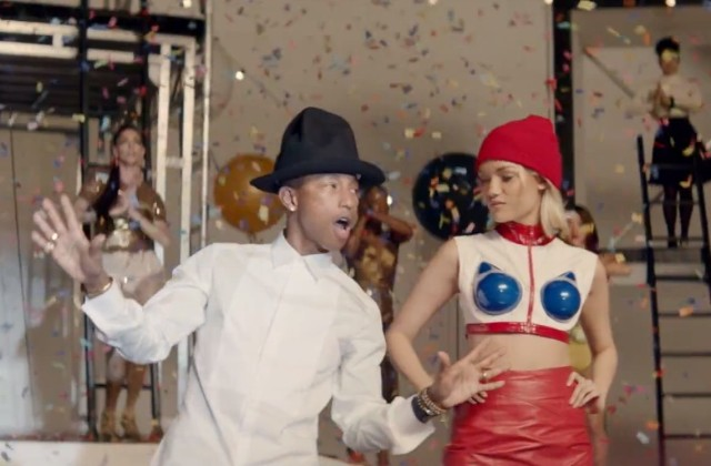 "Pharrell - ""Marilyn Monroe"" video"