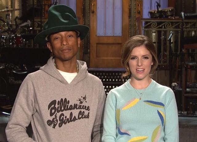 Pharrell SNL promos