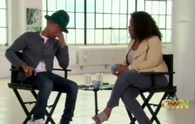 Pharrell on Oprah