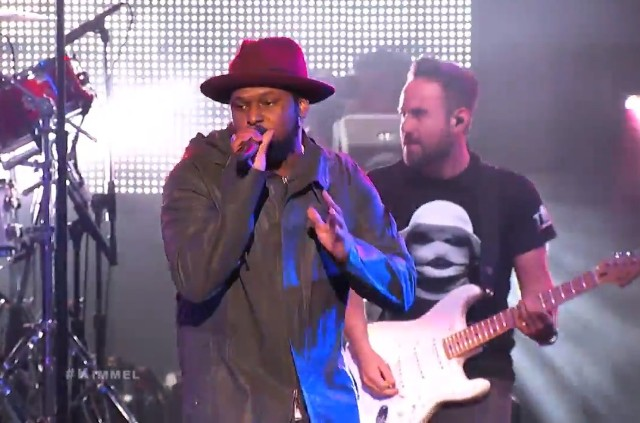 Schoolboy Q on Kimmel