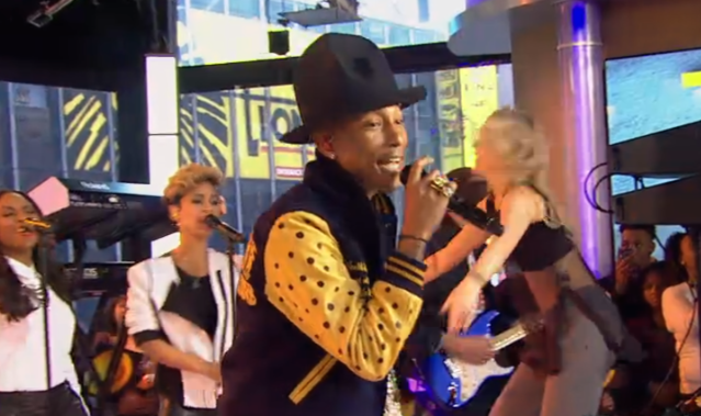 Watch Pharrell On Good Morning America