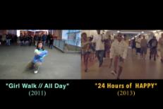 Girl Walk vs. Happy