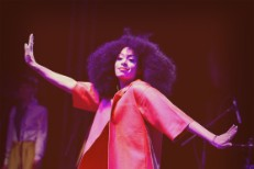 "Watch Solange Cover Kate Bush's ""Cloudbusting"" At Coachella"