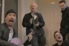 U2 on the Alarm special