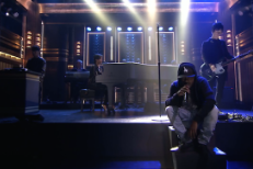 Watch The <em>Amazing Spider-Man 2</em> Crew (Kendrick Lamar, Johnny Marr, AraabMuzik, Hans Zimmer, Alicia Keys) Play <em>The Tonight Show</em>