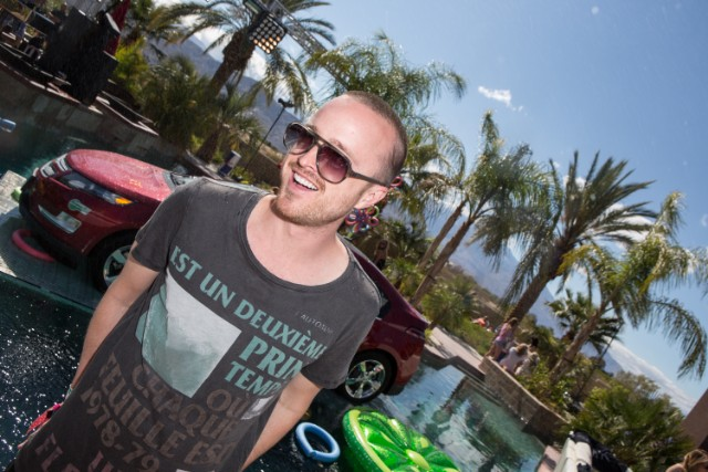 Aaron Paul @ Coachella