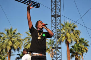 Watch A$AP Rocky Debut A New Song At Ferg's Coachella Set