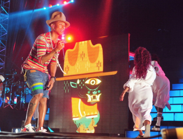 Watch Pharrell's Star-Studded Coachella Performance