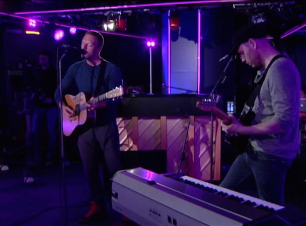 Coldplay @ BBC Radio 1 Live Lounge
