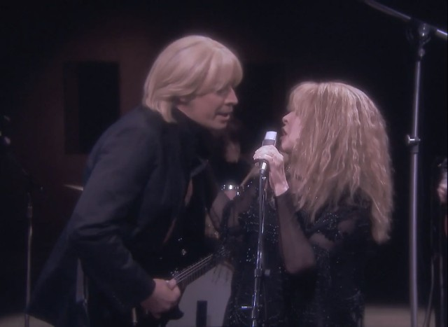Jimmy Fallon (as Tom Petty) and Stevie Nicks