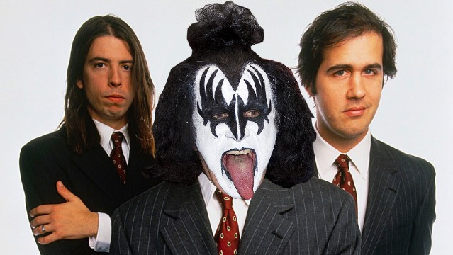 Nirvana ... With Gene Simmons!
