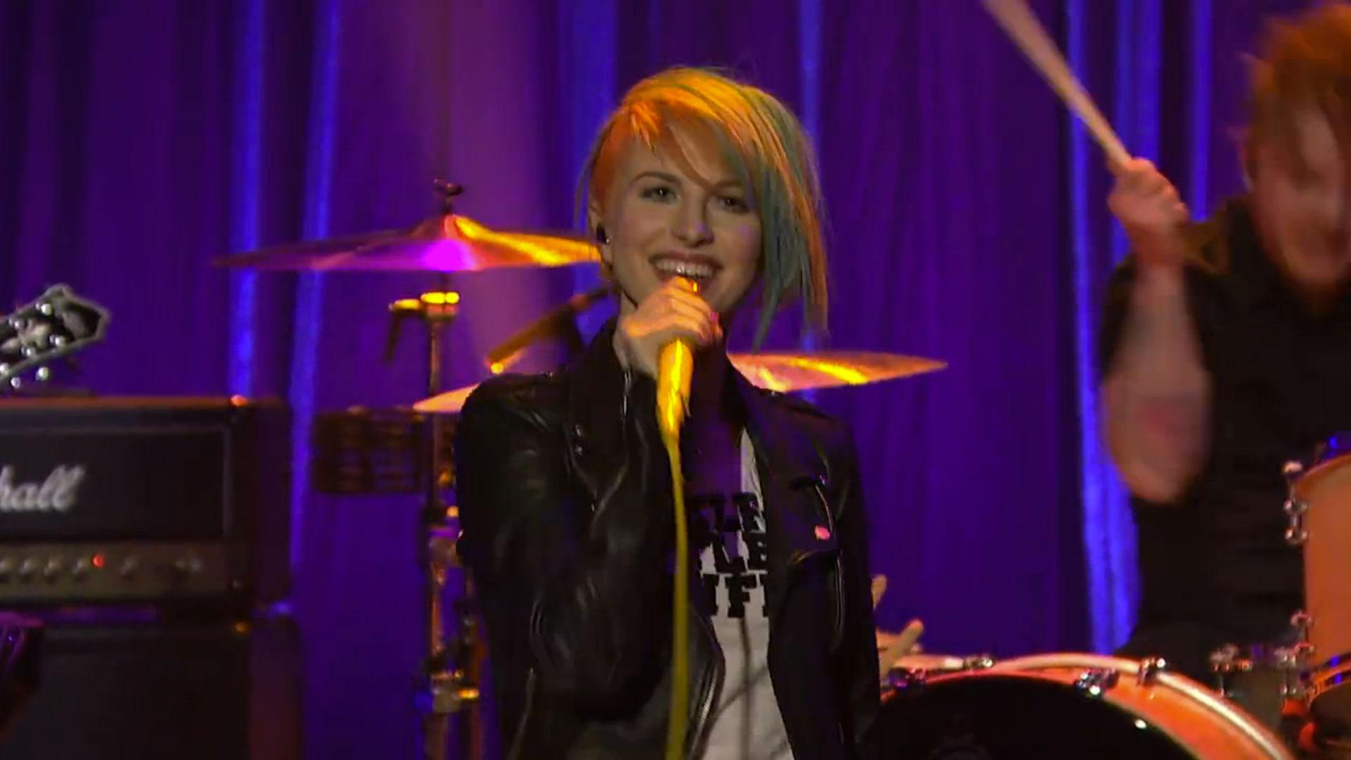 Watch Paramore Play &#8220;Ain&#8217;t It Fun&#8221; On <em>Seth Meyers</em>, Hear The Dutch Uncles Remix