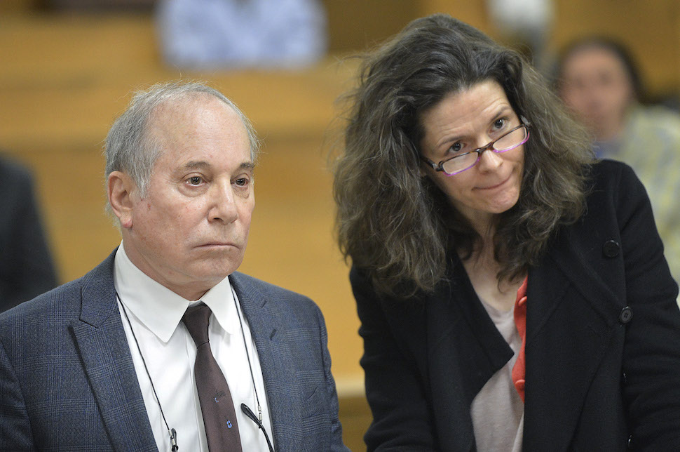 Paul Simon & Edie Brickell In Court