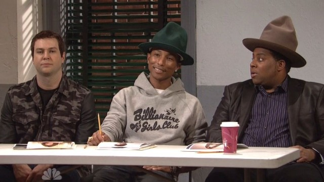 Pharrell SNL Audition Sketch
