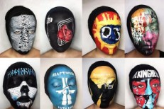 Faces Painted With Album Covers Are Cool And Sorta Terrifying