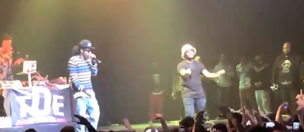 """Watch Schoolboy Q And Ab-Soul Debut """"Druggys Wit Hoes3"""" In L.A."""