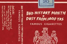 Bad History Month - Famous Cigarettes