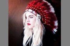 Christina Fallin headdress
