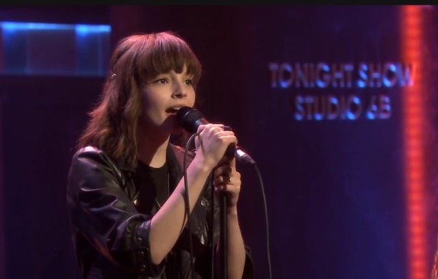Chvrches on The Tonight Show