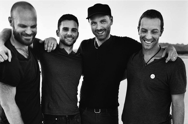 Coldplay 2014 press pic