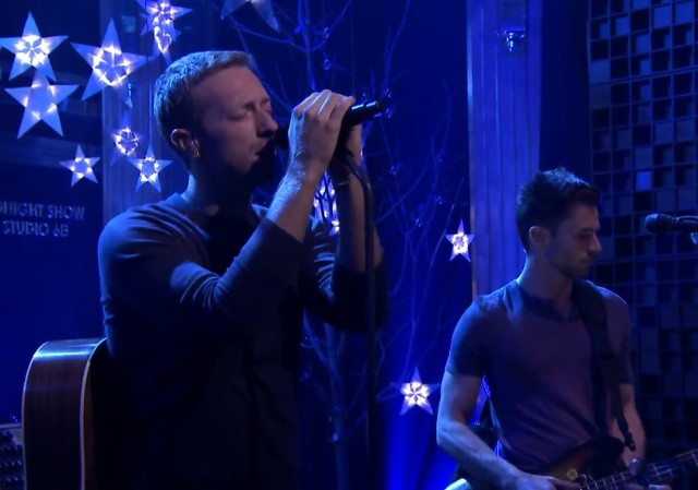 Coldplay on The Tonight Show