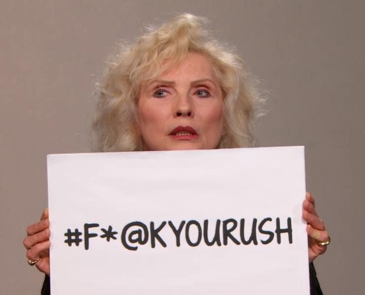 Watch Debbie Harry's PSA About Celebrity Elevator Violence
