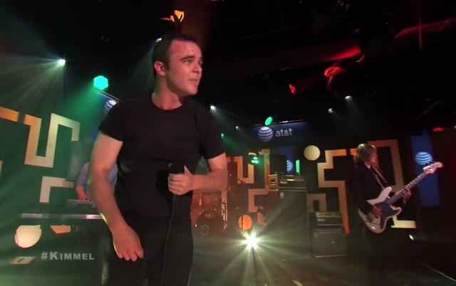 Future Islands on Kimmel